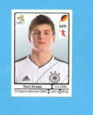 PANINI-EURO 2012-Figurina n.240- KROOS - GERMANIA -NEW-WHITE BOARD