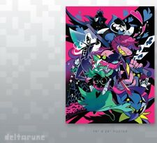 "Deltarune - The Beginning - 18x24"" Poster By Nina Matsumoto **PreSale**"