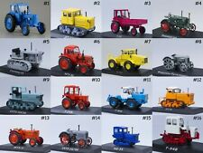 1:43 Tractors of the World - Hachette Partworks - Die-cast & Collectibles