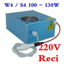 Reci W4 / S4 100 - 130W CO2 Laser Tube Power Supply / Power Source, 220V, OEM