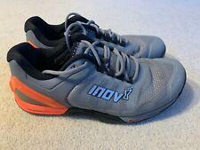 Inov8 F Lite 290 ladies fitness running trainers in grey/orange - size 5.5