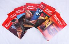 Popular Science Skill Book Lot of 7: Electrician, Furniture, Plumbing, Cabin, +