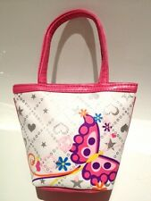 Little Butterfly White Tote