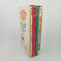 Roald Dahl Charlie And The Chocolate Factory Paperback Box Set 4 Books 1978-82