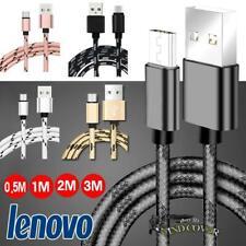 0.5M-3M trenzado tipo C-C Carga De Sincronización De Datos Usb Cable Cargador Para Tablet Lenovo