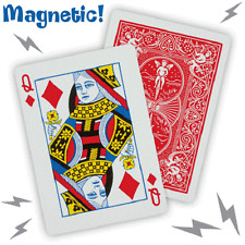 Magician's Magnetic Card Trick 2 Random Selected Cards for Real Magic Tricks