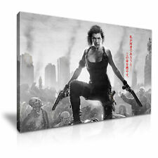 Alice Resident Evil Poster Picture Print Canvas Wall Art 76x50cm