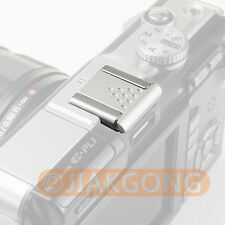 Silver Metal Universal Hot Shoe Cover for Canon Nikon Pentax Fuji