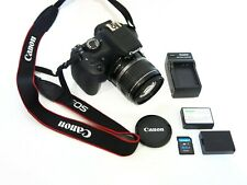 Excellent Canon EOS Rebel T5 18.0MP Digital SLR Camera w/ EF-S 18-55mm Lens
