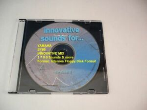 "Yamaha SY99 ""Innovative Mix"" mit über 1 7 0 0 Voices im Floppy-Format auf CD !!!"