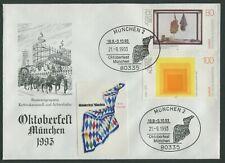 DECORATIVE MUNICH OKTOBERFEST COVER - CANCELLED 21-9-1993