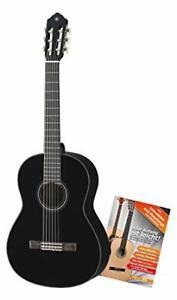 Yamaha C40BL Konzertgitarre (ideal Einsteiger Decke Fichte Boden unvollständig