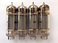 6P14P-EV = EL84 = 6BQ5 Matched / Selected QUAD Reflektor Strong 100% tested