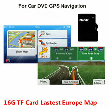 GPS Map card for WinCE Car DVD Navigation Software Europe