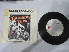 "ROLLING STONES /DADOS RODANDO/ 7"" SINGLE ESPAÑOL PROMOCIONAL/LAVEL BLANCO /RARO!"