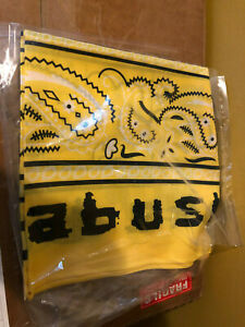 100% Authentic BRAND NEW A$AP Rocky Bandana ASAP Scarf Yellow BABUSHKA V2