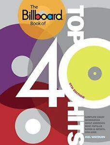 The Billboard Book of Top 40 Hits by Joel Whitburn: New