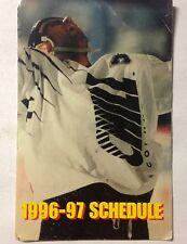 Columbus Chill Hockey 96-97 ECHL Pocket Schedule Ohio Minor Pro Ice Puck Skates