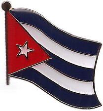 LOT OF 3 Cuba Flag Lapel Pins - Cuban Flag Pin Badge