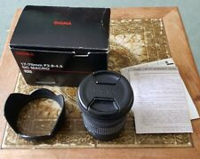 Sigma 17-70mm F2.8-4 OS Lens  Canon AF fitting