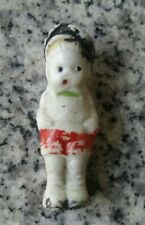 Vintage Little 2 Inch Bisque Doll Made In Japan