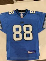 Mike Williams Detroit Lions NFL Equipment Reebok Jersey Men's Size Small