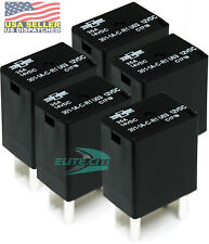 Song Chuan 301-1A-C-R1-U03 12VDC Micro 280 SPST 35A Relay ( Pack of 5) +FREE