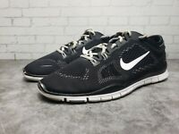 Nike Free 5.0 TR Fit 4 Women's Shoes Size 12 Black White Running 629496-001