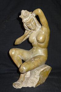 Antique Vintage Marvelous Tarzan Figure Statue Home Decor Collectible Handmade