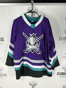 Mighty Ducks Game Changers(Not Used In Movie) No Names On Back-pick Size