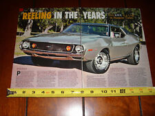 1973 AMC JAVELIN AMX - MUSCLECAR ORIGINAL 2009 ARTICLE
