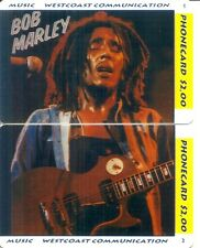 RARE / PUZZLE 2 CARTE TELEPHONIQUE - BOB MARLEY / PUZZLE 2 CARDS LIMITED EDITION