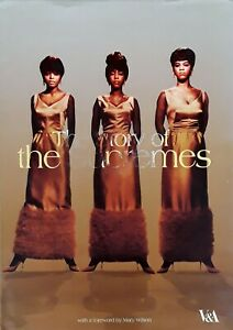 STORY OF THE SUPREMES - 95 PAGE HARDBACK WITH DUST JACKET - MARY WILSON FORWARD