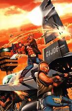 Greg Horn SIGNED GI Joe Comic Art Print ~ Chainsaw Buzzer
