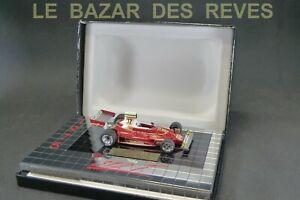 HECO MODELES. Miniatures du château.FERRARI 312 T. Niki Lauda. 1975.  + Boite.