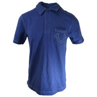 True Religion Classic S/S Polo With Pocket Shirt (Retail $80)