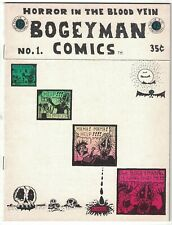 Bogeyman Comics #1 VF- (1st) print - rory hayes - underground comix 1969 horror