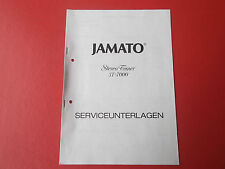 Jamato st 7000 tuner orig. service INSTRUCTIONS MANUAL