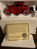 1932 Chevy Roadster Fire Chief Car, National Motor Museum Mint  MFG # SS-T5420B