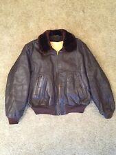 Vintage Hercules Shearling-Lined Steerhide Leather Jacket