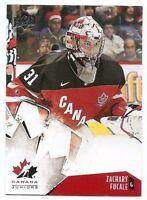 15/16 UPPER DECK TEAM CANADA JUNIORS BASE Hockey (#1-50) U-Pick from List