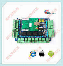 TCP/IP 4 Door Browser Server B/S iOS Android Apple Mobile App Access Controller/