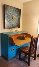 antique drop front secretary desk/buffet