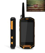 rugged smartphone unlocked waterproof AGGRESSOR X5 WalkieTalkie Laser Torch 2SIM