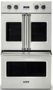 """Viking Professional 7 Series 30"""" SS Electric Double French-Door Oven VDOF7301SS"""