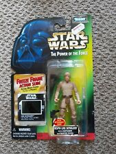 Star Wars Power of the Force Bespin Luke Skywalker Kenner 1997 Freeze Frame New