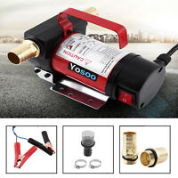 12V Auto Ölpumpe Ölabsaugpumpe Benzinpumpe Heizölpumpe Ölwechsel 160W 40 L/min