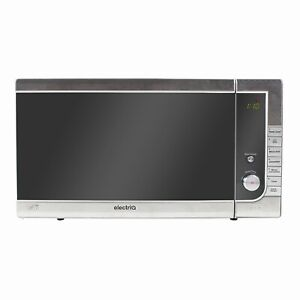electriQ Digital 40L 1000W Freestanding Combination Microwave in Stainless Steel