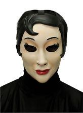 EMO GIRL PLASTIC FACE MASK HALLOWEEN COSTUME MR031315