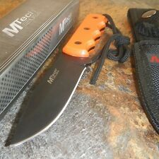 "8"" M-TECH Survival Tactical EMT FIXED BLADE KNIFE Army Bowie w/ SHEATH"